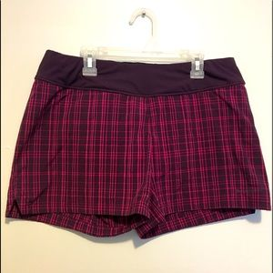 Patagonia Purple with  Pink Stripes Shorts